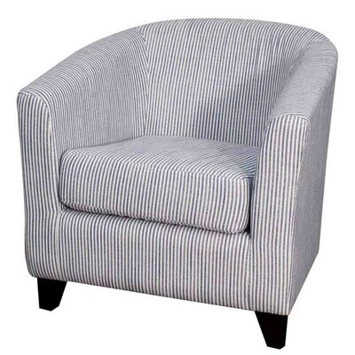 Hayden Fabric Barrel Chair