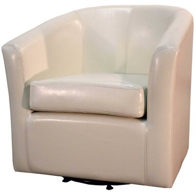 Teesha Barrel Chair Upholstery: Beige