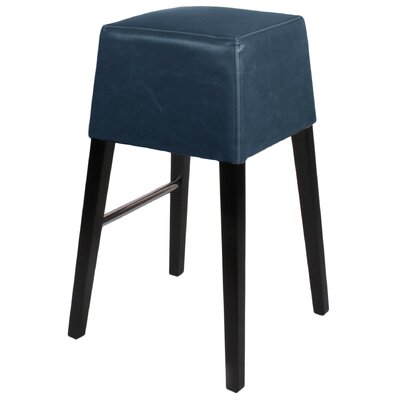 Aubin 31 Bar Stool Upholstery: Vintage Blue