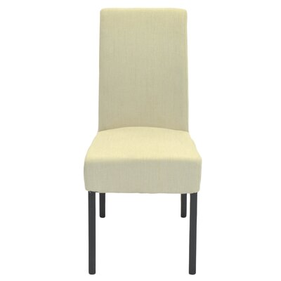 Kimberling Fabric Side Chair Color: Sand
