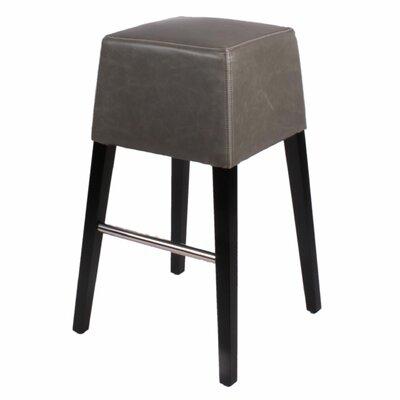 Aubin 31 Bar Stool Upholstery: Vintage Gray