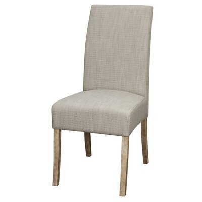 Carli Putty Fabric Side Chair