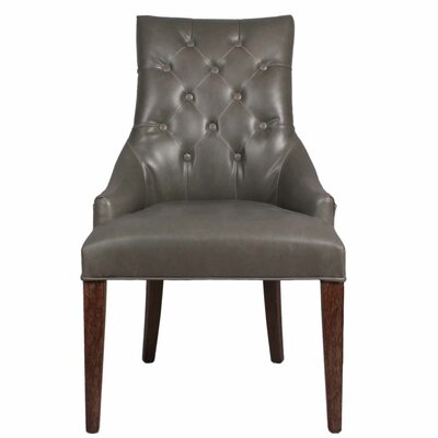 Celestia Bonded Side Chair Color: Vintage Gray
