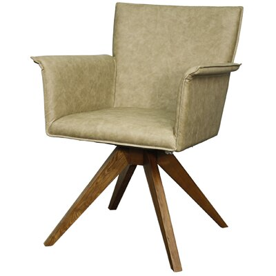 Addison Upholstered Dining Chair Upholstery: Antique Tan