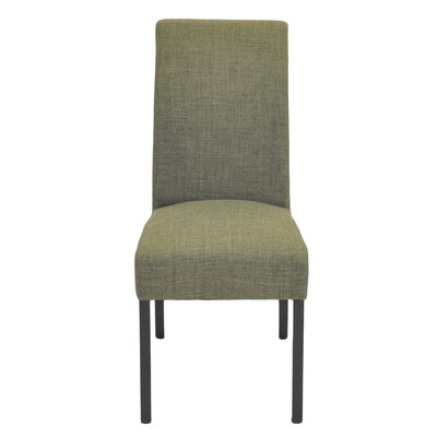 Bartram Upholstered Dining Chair Color: Toffee