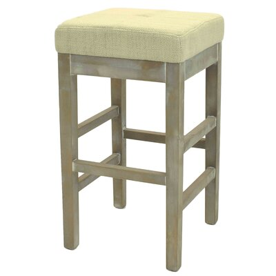 Kimberling 27 Bar Stool Upholstery: Canvas