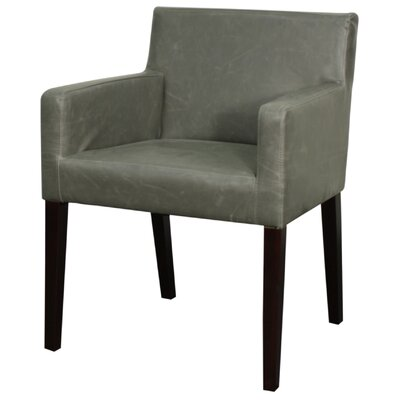 Griffin Upholstered Dining Chair Upholstery: Vintage Gray