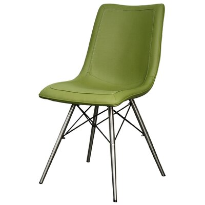 Blaine Side Chair Color: Cactus