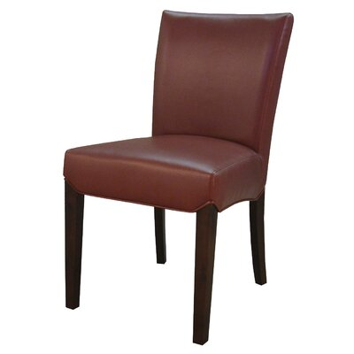 Beverly Hills Side Chair Color: Pomegranate