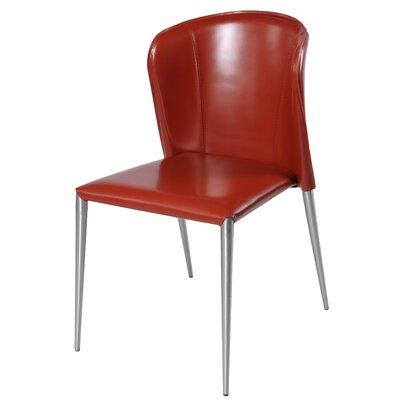 Devin Side Chair Color: Cordovan