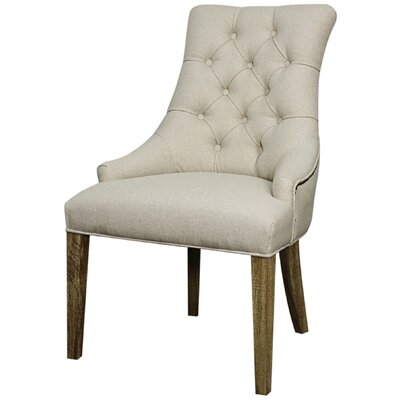 Celestia Side Chair Color: Light Sand