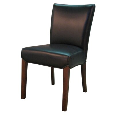 Beverly Hills Side Chair Color: Black