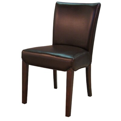 Beverly Hills Side Chair Color: Coffee Bean