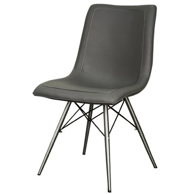 Blaine Side Chair Color: Stormy Gray