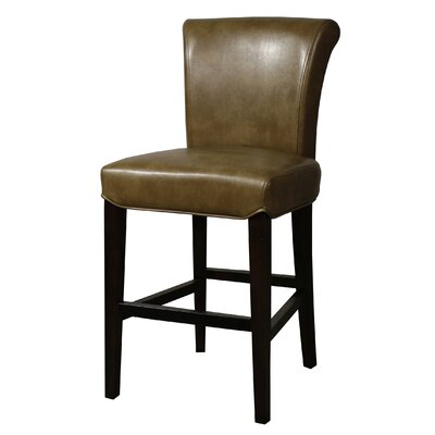 Bentley 26 Bar Stool Upholstery: Molasses