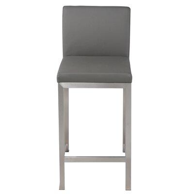 Edward 30 Bar Stool Upholstery: Gray