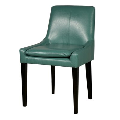 Chase Bonded Leather Upholstered Dining Chair Color: Turquoise
