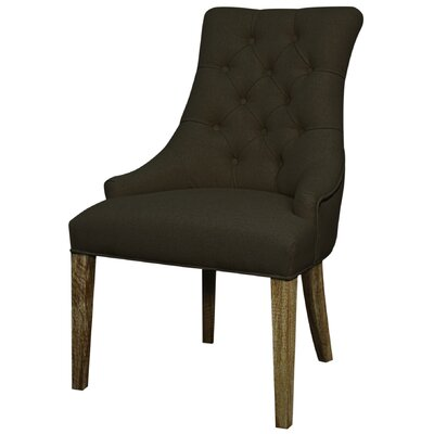 Celestia Side Chair Color: Bark