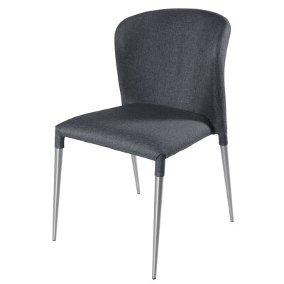Devin Side Chair Color: Night Shade