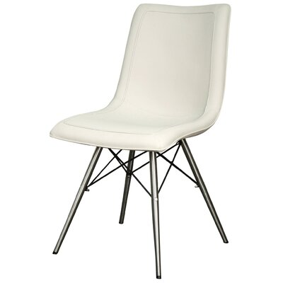 Blaine Side Chair Color: Light Cream