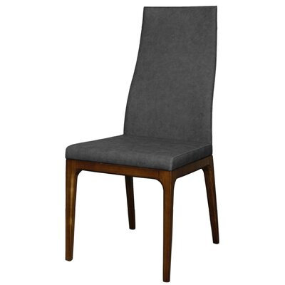 Riley Fabric Side Chair Color: Night Shade