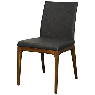Devon Side Chair Color: Antique Gray