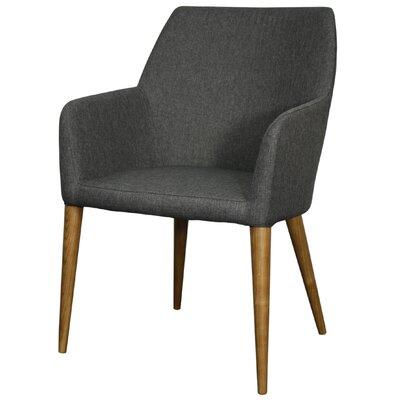 Regan Fabric Armchair Color: Night Shade