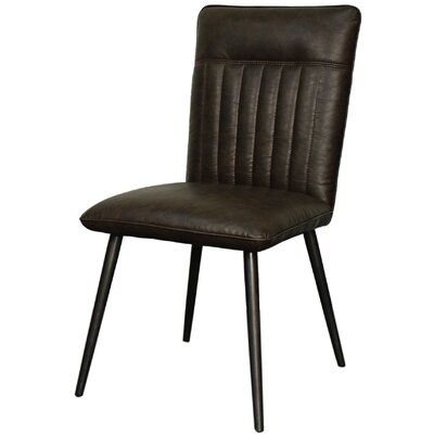 Caden Side Chair Color: Cocoa Brown