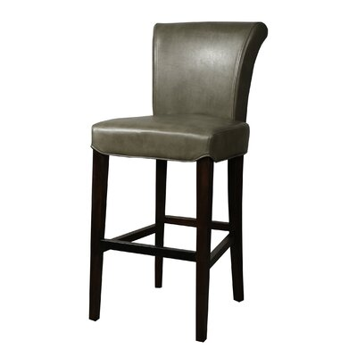 Bentley 30 Bar Stool Upholstery: Quarry