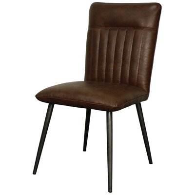 Caden Side Chair Color: Marsh Brown