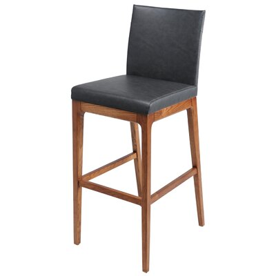 Devon 30 Bar Stool Upholstery: Antique Gray