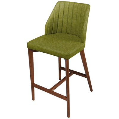 Tory 26.5 Bar Stool with Cushion Upholstery: Limerick