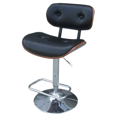 Emmerson Adjustable Height Bar Stool with Cushion