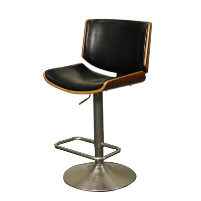 Zolan Adjustable Height Swivel Bar Stool