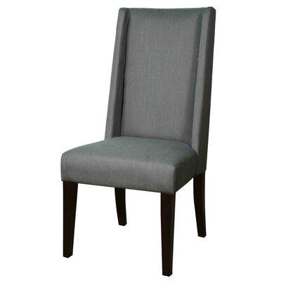 Blain Parsons Chair Upholstery: Gun Metal