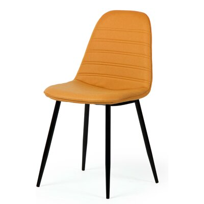 Aldo Side Chair Upholstery: Saffron