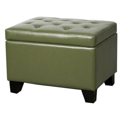 Kimbler Storage Ottoman Upholstery: Asparagus