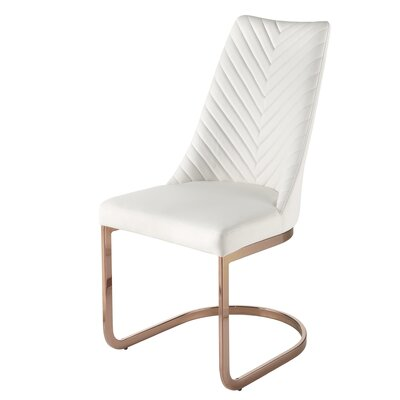 Kyla Parsons Chair Color: White