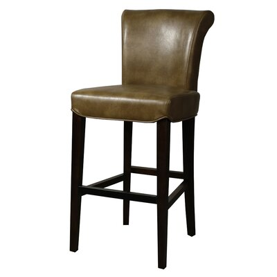 Bentley 30 Bar Stool Upholstery: Molasses