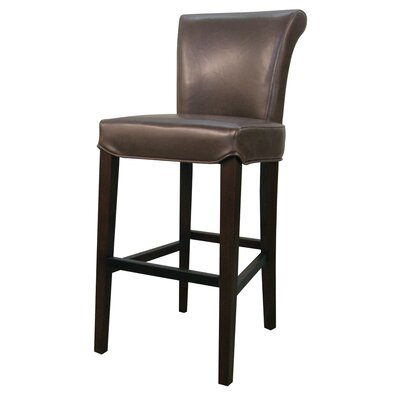 Bentley 30 Bar Stool Upholstery: Mocha