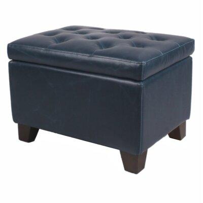 Kimbler Tufted Ottoman Upholstery: Vintage Blue