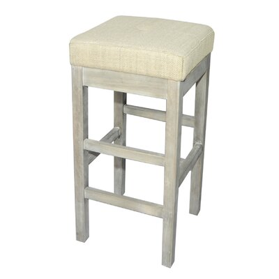 Kimberling 31 Bar Stool Upholstery: Canvas