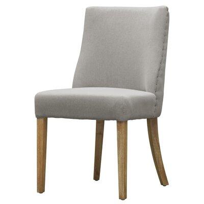 New Paris Fabric Side Chair Color: Haze