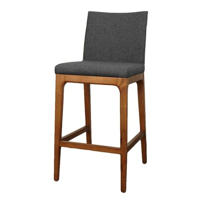 Devon 26.5 Bar Stool Upholstery: Night Shade
