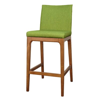 Devon 26.5 Bar Stool with Cushion Upholstery: Limerick