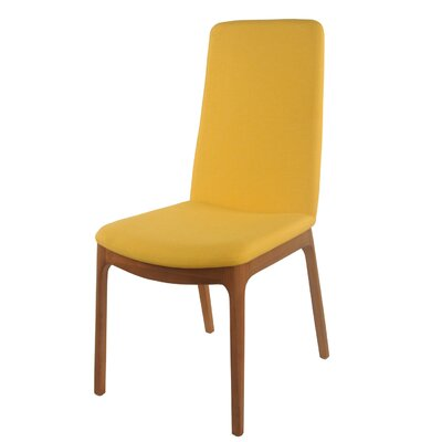 Adrey Side Chair Color: Summer Yellow
