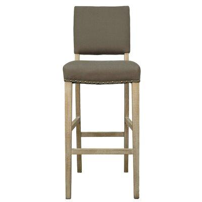 Arthur 30 Bar Stool with Cushion Upholstery: Caf� Mocha