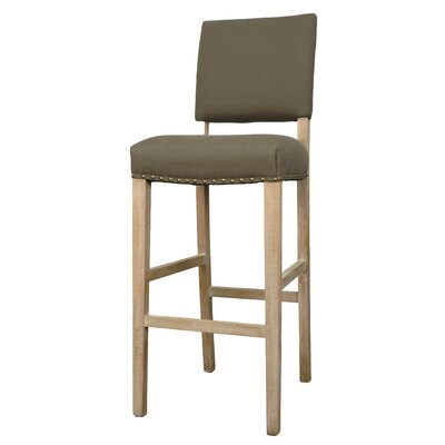 Welling 27 Bar Stool Upholstery: Caf� Mocha
