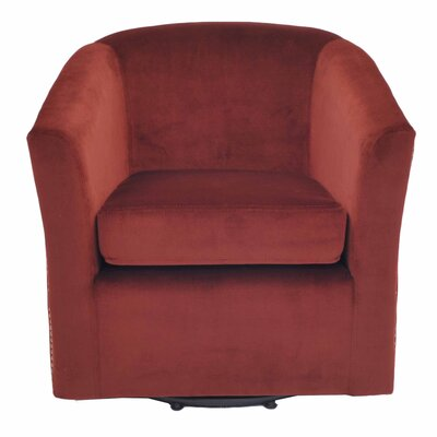 Ernest Club Chair Upholstery: Cranberry