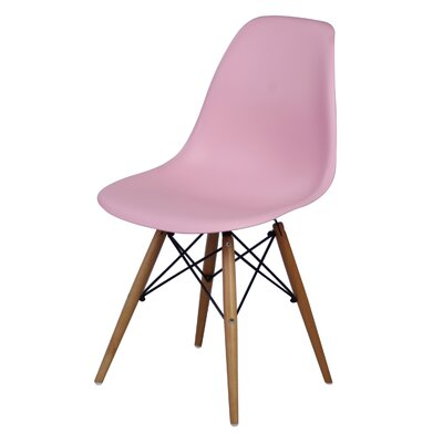 Essence Side Chair Finish: Pink